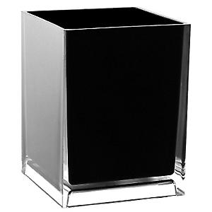 Gedy Rainbow Waste Basket Bin Black RA09 14