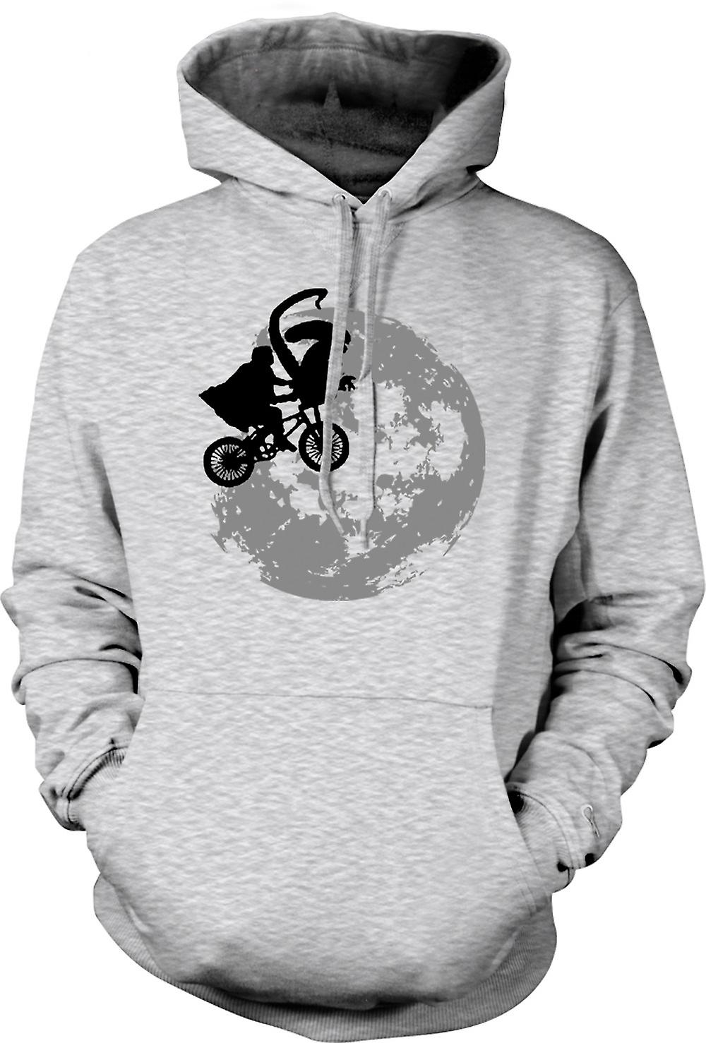 Mens Hoodie - ET Alien - Pop Art - Cool - Sci-Fi
