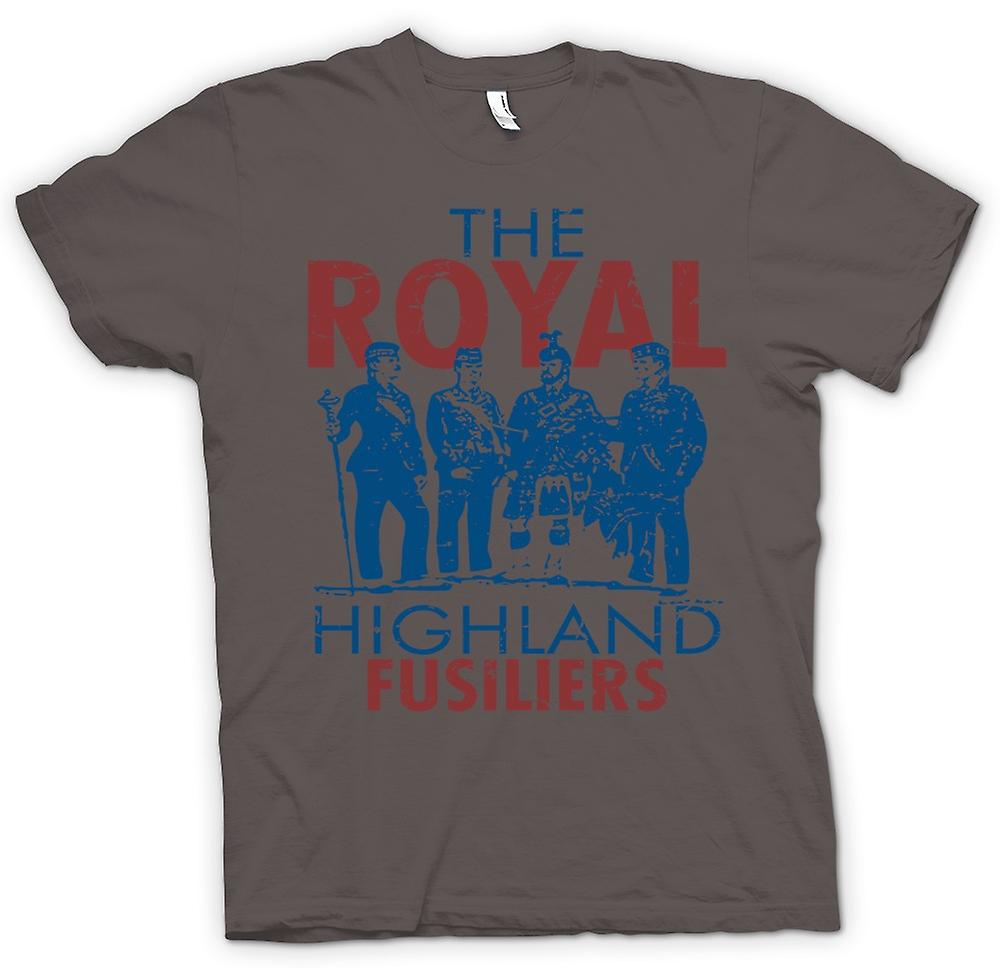 Womens T-shirt - The Royal Highland Fusiliers - armée britannique