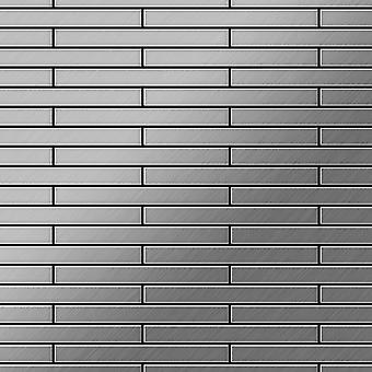 Metal mosaic Stainless Steel ALLOY Deedee-S-S-B