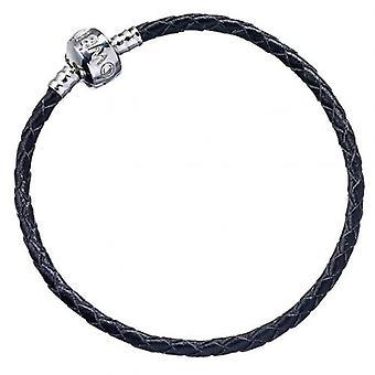 Harry Potter pulsera cuero negro M