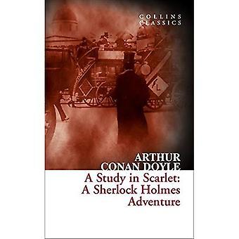 En studie i rött: en Sherlock Holmes äventyr (Collins klassiker)