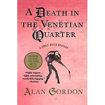 A Death in the Venetian Quarter (Fools' Guild Mysteries)