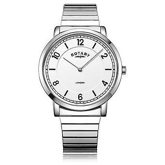 Rotary   Gents Stainless Steel Bracelet   GB02765/18 Watch
