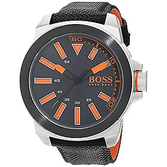 Hugo Boss Orange 1513116 quartz watch for men, classic analog display and rubber strap