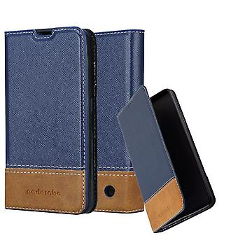 Cadorabo case for Nokia Lumia 550 - mobile case with stand function and card cover from an artificial leather suits - case cover sleeve case bag book