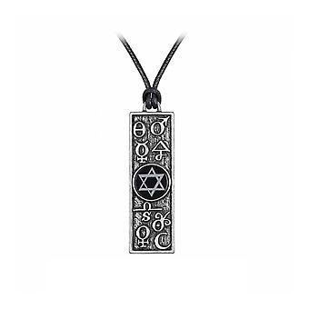 Alchimie Principia Alchemystica pendentif