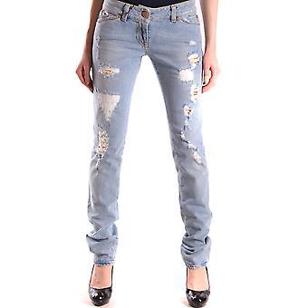 Pinko Light Blue Cotton Jeans