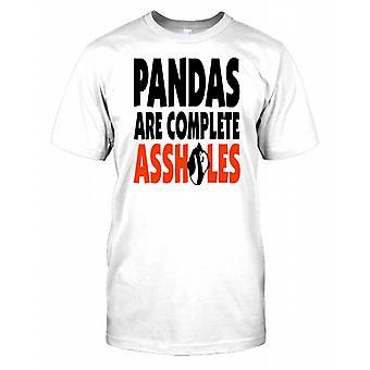 Pandas Are Complete Assholes - Funny Kids T Shirt
