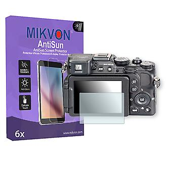 Nikon COOLPIX P7800 Screen Protector - Mikvon AntiSun (Retail Package with accessories)