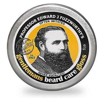 Il professor Edward J. di Fuzzworthy barba cura Gloss - 40ml