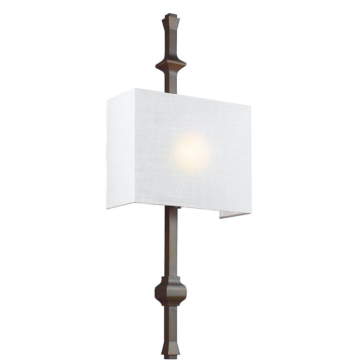 Elstead - 1 Light Wall Light - Antique Bronze - FE TEVA1 ANBZ