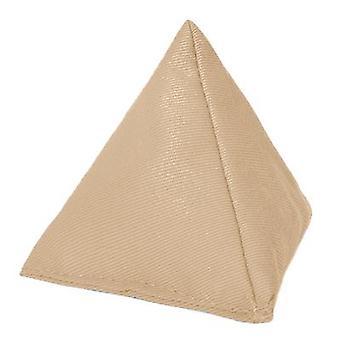 Pebble algodón triangular malabarismo bolsa de frijoles para jugar al aire libre