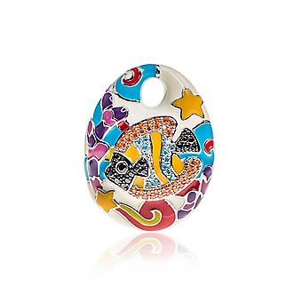Belle Etoile Multi Coloured Under The Sea Pendant 02020810902