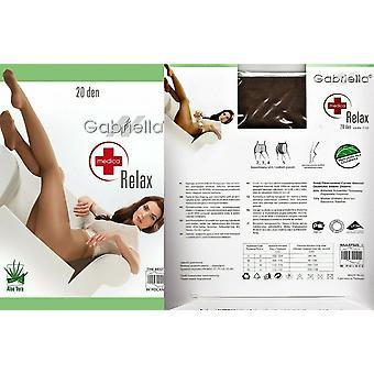 Gabriella Strumpfwaren Medica Relax 20 Den Strumpfhosen Aloe Vera