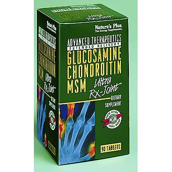 Natures Plus GLUCOSAMINE/CHOND/MSM RX ULTRA JNT 90