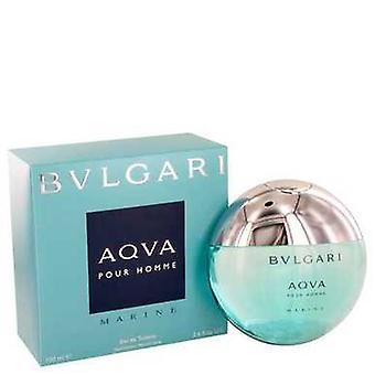 Bvlgari Aqua Marine Por Bvlgari Eau De Toilette Spray 3.4 Oz (hombres) V728-449256