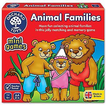 Boomgaard speelgoed dieren gezinnen spel