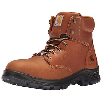 Carhartt Mens CMZ6040 Leather Round Toe Ankle Safety Boots
