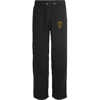 Honoroury Artillery Company - Licensed British Army Embroidered Open Hem Sweatpants / Jogging Bottoms