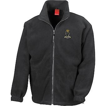 Royal Irish Rangers-gelicentieerd Britse leger geborduurd zwaargewicht fleece jas