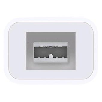 Apple md464zm/un adaptador original de cable de rayos de color blanco