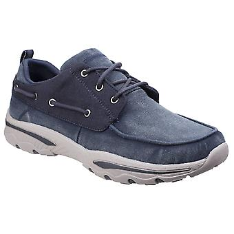 Skechers Mens Creston Vosen Lace-Up Trainer