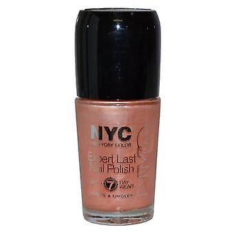 NYC New York Color Expert Last Nail Polish 9.7ml Water Taxi Peach (225)