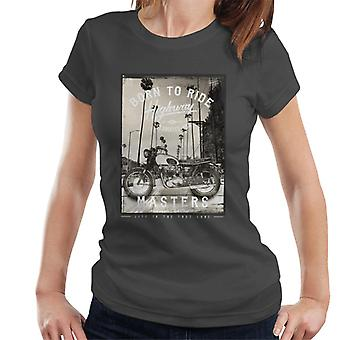 Divide & Conquer Born To Ride Women's T-Shirt