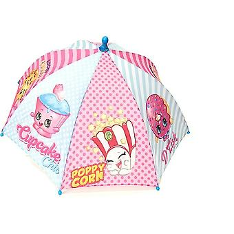 Umbrella - Shopkins - Parasol Paraguas - Blue New 239876