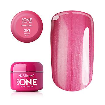 Base one Metallic-Pinky pie 5 g UV-gel