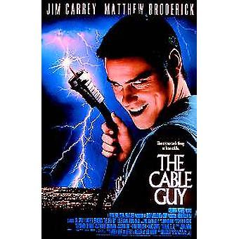 Cable Guy alkuperäinen elokuva teatteri juliste