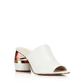 Kenneth Cole New York Womens Louise Fabric Peep Toe Classic Pompes
