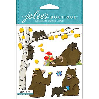 Jolee's Boutique Dimensional Stickers Bear Family E5021631