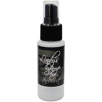 Lindy's Stamp Gang Starburst Spray 2Oz Bottle Black Orchid Silver Sbs 63