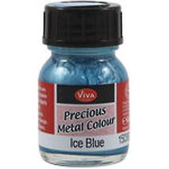 Viva Decor Precious Metal Color 25Ml Pkg Ice Blue Vvpmc 3603