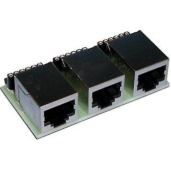 S88 3-way adapter 6-pin Prefab component Universal