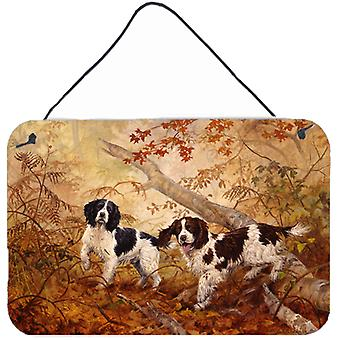 Springer Spaniels by Elizabeth Halstead Wall or Door Hanging Prints HEH0139DS812