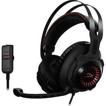 Gaming headset 3.5 mm jack Corded HyperX Cloud Revolver™ Over-the-ear Black