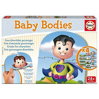 Educa Puzzle Baby Body (Babies , Toys , Puzzles)