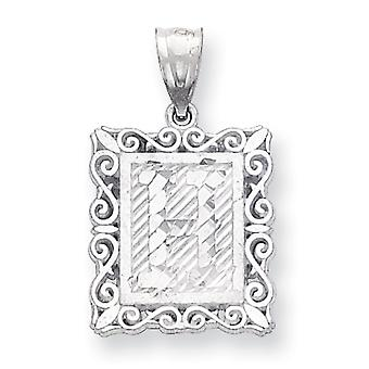 Charm in argento Sterling iniziale H