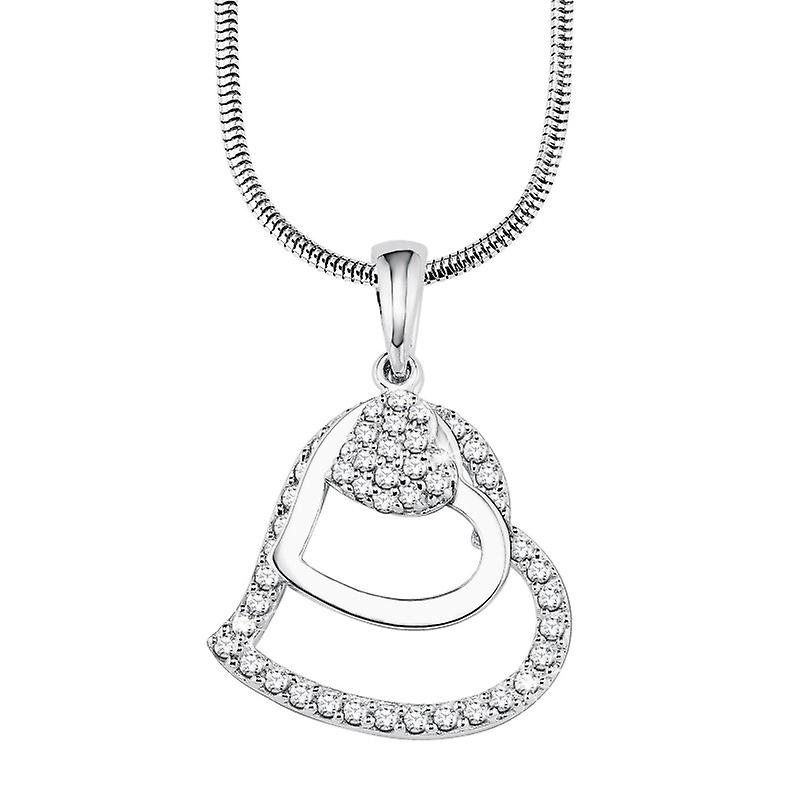 s.Oliver Jewel Damen Halskette Collier Silber SO728/1 - 9082575