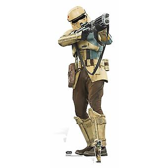Shoretrooper Rogue en: En Star Wars historien Lifesize papp åpning