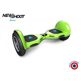 Hoverboard spinboard © x-cross verde acido