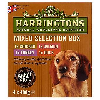 Harringtons våde blandet smag pakke 4x400g (pakke med 4)