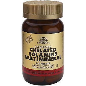 Solgar Chelated Solamins(R) Multiminerals Tablets (Vitamins & supplements , Minerals)