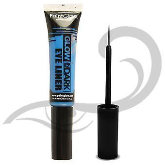 Paintglow Glow In Dark Eye Liner blu
