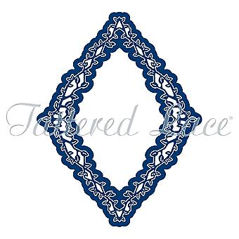 Tattered Lace Engaging Elements Diamond Frame Die