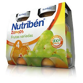 Nutribén Various Fruits Baby (Childhood , Healthy diet , Pots)