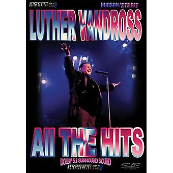 Luther Vandross - alle Hits [DVD] USA importen